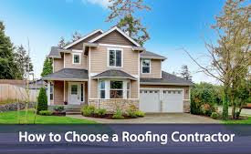 how to select a roofer
