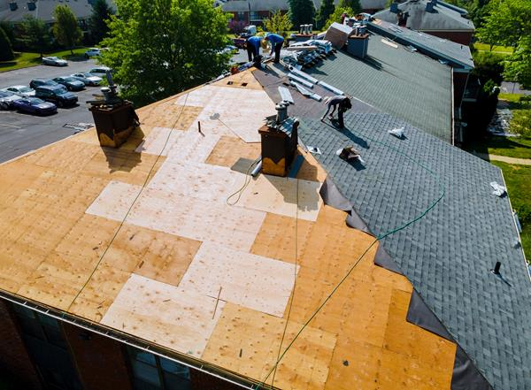 commercial roofing by heartland